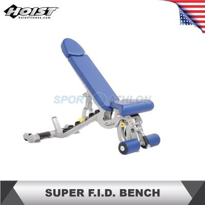Hoist Fitness CF-3165 SUPER FLAT/INCLINE/DECLINE BENCH