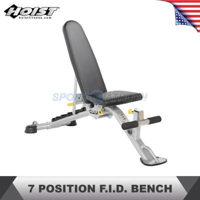 Hoist Fitness HF-5165 7 POSITION F.I.D. BENCH