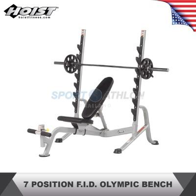 Hoist Fitness HF-5170 7 POSITION F.I.D. OLYMPIC BENCH