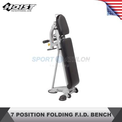 Hoist Fitness HF-5167 7 POSITION FOLDING F.I.D. BENCH